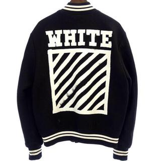 オフホワイト(OFF-WHITE)のゆるり様専用 3点セット off-white assc fragment(スタジャン)