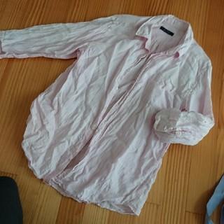 レイジブルー(RAGEBLUE)の薄ピンク・シャツ(シャツ)
