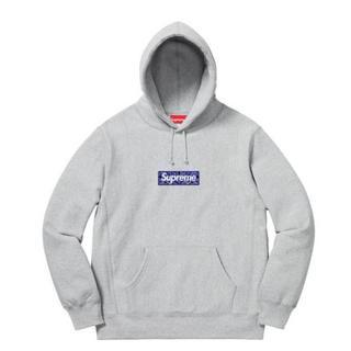 Supreme - Supreme Bandana Box Logo Hooded L①