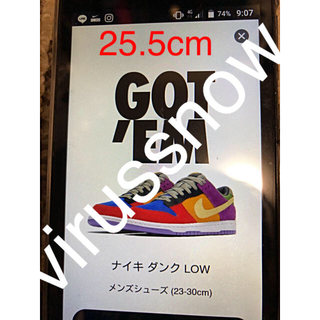 "NIKE - 25.5cm NIKE DUNK LOW SP ""VIOTECH"""