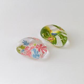 アフタヌーンティー(AfternoonTea)のアフタヌーンティー ガラス 箸置き 2個(カトラリー/箸)