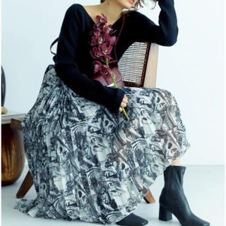 ミラオーウェン(Mila Owen)のmila  owen タック風プリーツスカート(ロングスカート)