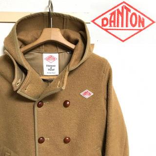 DANTON - 美品!日本製!DANTON ダントン ウールモッサ・フードダブル ジャケット