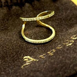 arpege k18 ダイヤリング ファランジリング #11(リング(指輪))