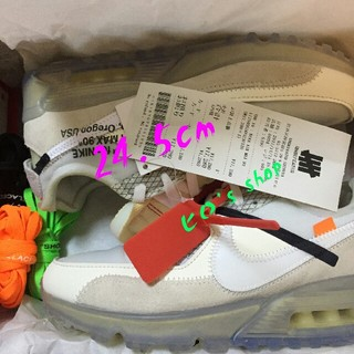 OFF-WHITE - NIKE×OFF WHITE THE10 AIR MAX 90 24.5
