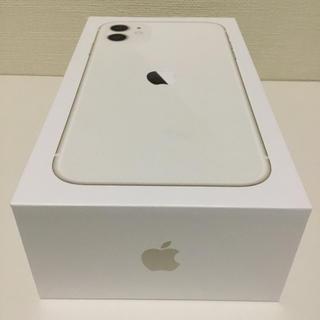 iPhone - 【新品・未使用】iPhone11 64GB SIMフリー ホワイト