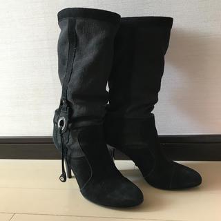 セヴントゥエルヴサーティ(VII XII XXX)の【セヴントゥエルブサーティー35.5】黒ブーツ(ブーツ)