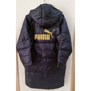 PUMA - カッコいい❗PUMA◆ダウン70%!暖かベンチコート◆140サイズ◆プーマ