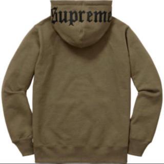 シュプリーム(Supreme)のsupreme old english hood logo zipupsweat(パーカー)