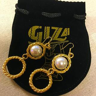 ギザ(GIZA)の新品未使用☆GIZA パールピアス(ピアス)