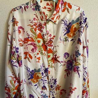 DIOR HOMME - dior kaws シルクシャツ 39