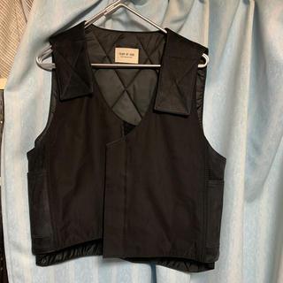 フィアオブゴッド(FEAR OF GOD)の最終価格 fear of god bull riders vest s/mサイズ(Tシャツ/カットソー(七分/長袖))