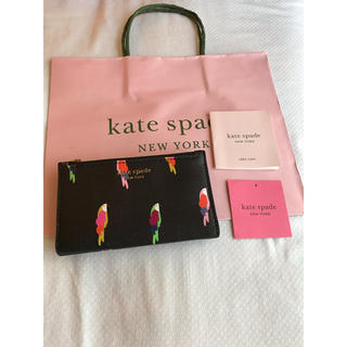 kate spade new york - ケイトスペード コンパクト ウォレット 財布 バード