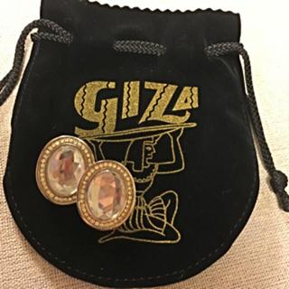 ギザ(GIZA)のGIZA ovalピアス プレゼントに♡(ピアス)