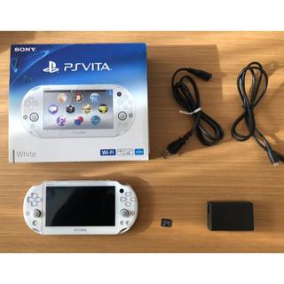 プレイステーションヴィータ(PlayStation Vita)のゆうやちん様専用 PlayStation®Vita 超美品 メモカ8GBおまけ付(携帯用ゲーム機本体)