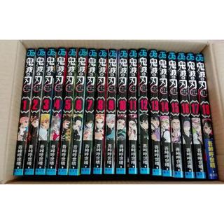 集英社 - 鬼滅ノ刃 1〜18巻 新品 全巻 セット 鬼滅の刃