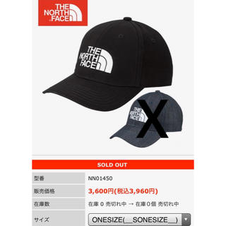 THE NORTH FACE - The North Face キャップ帽 男女兼用