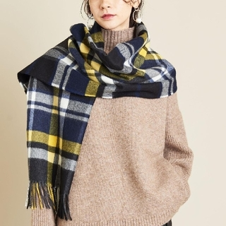 BEAUTY&YOUTH UNITED ARROWS - beauty&youthUNITEDtARROWSPLAIDIEチェックストール