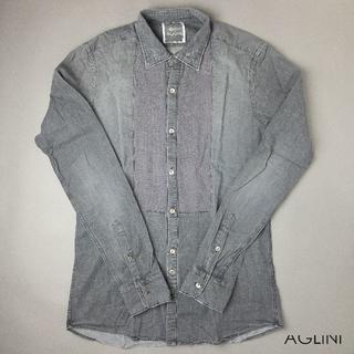 BARBA - 新品未使用 Aglini 長袖カジュアルシャツ 38 イタリア製