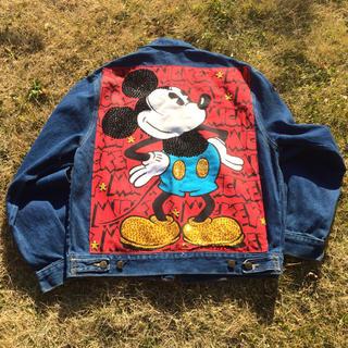 ディズニー(Disney)のミッキー デニムジャケット オフィシャル(Gジャン/デニムジャケット)