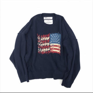 DAIRIKU/Inside Out America Knit(ネイビー)