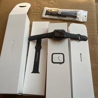 アップルウォッチ(Apple Watch)のアップルウォッチ4 44mm GPS(腕時計(デジタル))