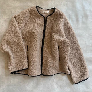 aries - アリエスミラージュ パイピングボアジャケット