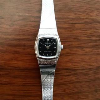 オリエント(ORIENT)のオリエント ORIENT 文字盤 黒 アナログ クオーツ 腕時計(腕時計)