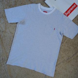 シュプリーム(Supreme)の送料込SUPREME大阪店購入BorderPocketTeeシュプリームTシャツ(Tシャツ/カットソー(半袖/袖なし))