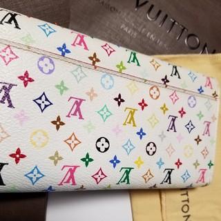 ルイヴィトン(LOUIS VUITTON)のルイヴィトン マルチカラー 長財布 新型 ポルトフォイユ サラ(財布)