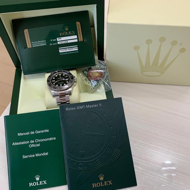 トラディショナル ヴァシュロン 、 ROLEX - Rolex gmtマスター2 の通販 by ランクル0484's shop