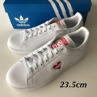 adidas - 【定価13200円】adidas STAN SMITH ハート 白×赤 23.5