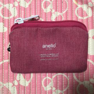 アネロ(anello)のアネロ anello  キーケースつきパスケース リールつき ポーチ 小銭入れ(パスケース/IDカードホルダー)