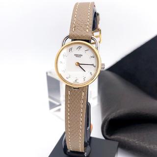 Hermes - 【仕上済/ベルト2本】エルメス アルソー ゴールド レディース 腕時計