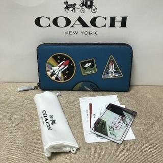 COACH - COACH 新品 財布 シグネチャー ブラック コーチ F10846