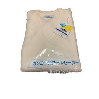 スクール セーター 無地 (男女兼用)(ニット/セーター)