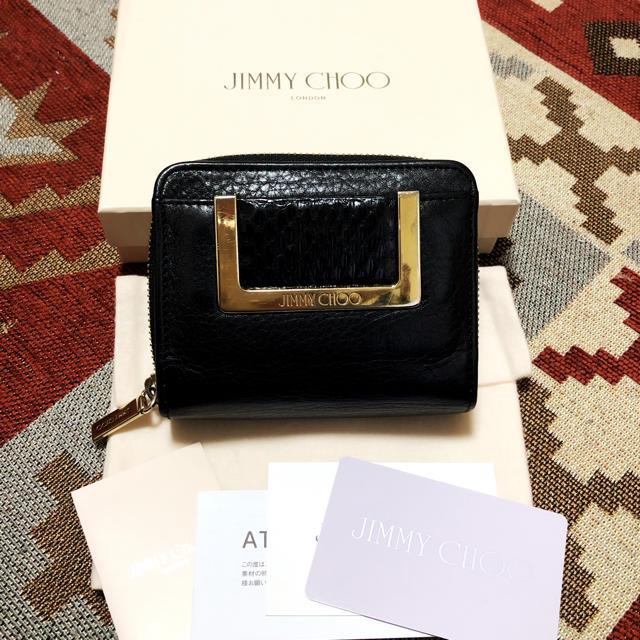 JIMMY CHOO - ジミーチュウ 二つ折り財布の通販 by m's shop