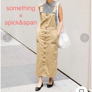 Spick and Span - something × spick&span□別注 ジャンパー スカート