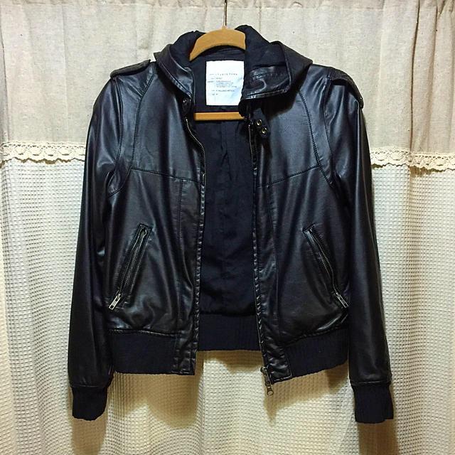 LOWRYS FARM(ローリーズファーム)の黒のライダース レディースのジャケット/アウター(ライダースジャケット)の商品写真