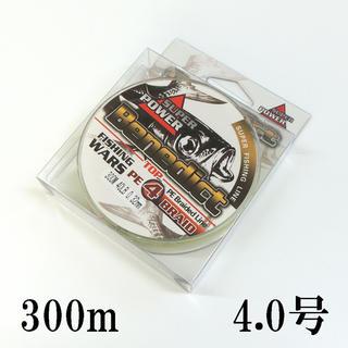 PEライン 5色 マルチカラー 4編 300m 4号 (釣り糸/ライン)