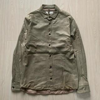 エディション(Edition)のEdition レザーシャツ(シャツ)