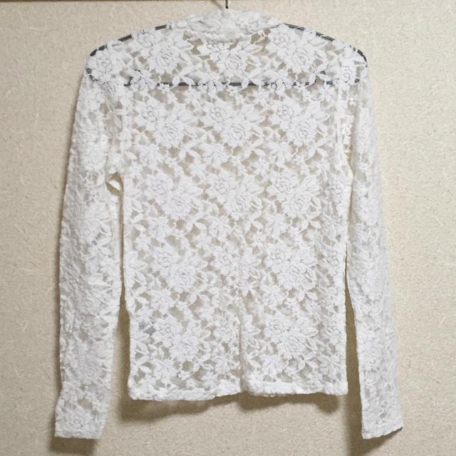 GU(ジーユー)のg.u レーストップス レディースのトップス(Tシャツ(長袖/七分))の商品写真