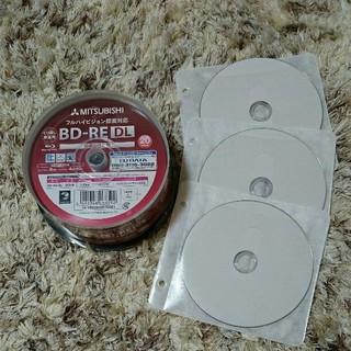 ミツビシ(三菱)の☆新品☆繰返し録画用 Blu-ray Disc50GB×3枚(ブルーレイレコーダー)