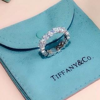 Tiffany & Co. - 美品Tiffany&Co.ティファニー リング 刻印 レディース お勧め