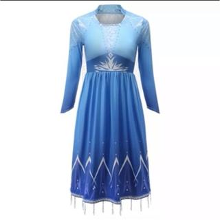アナトユキノジョオウ(アナと雪の女王)のアナ雪2  エルサ  ドレス(衣装)
