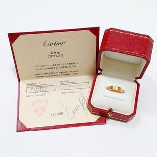 Cartier - カルティエ LOVEウェディングリング 18K #52 イエローゴールド6925