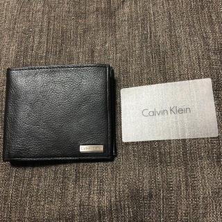 カルバンクライン(Calvin Klein)のカルバン クライン 2つ折り 財布(折り財布)