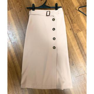GRL - ベルト付きラップデザインナロースカート
