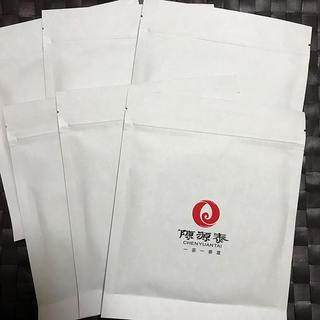 福鼎白茶 白毫銀針 6パック 陳源泰 中国茶(茶)