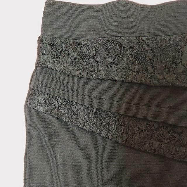 Avail(アベイル)のタグ付き新品✩.*˚レース切替タイトスカート♡黒 レディースのスカート(ミニスカート)の商品写真